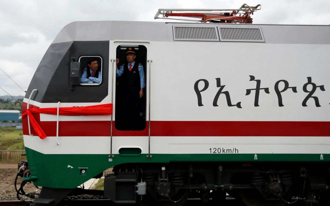 Ethiopia and Kenya are struggling to manage debt for their Chinese-built railways