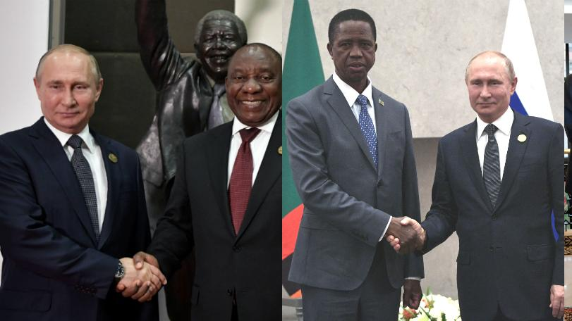 Russia is vying to offer African countries a credible alternative to the US and China