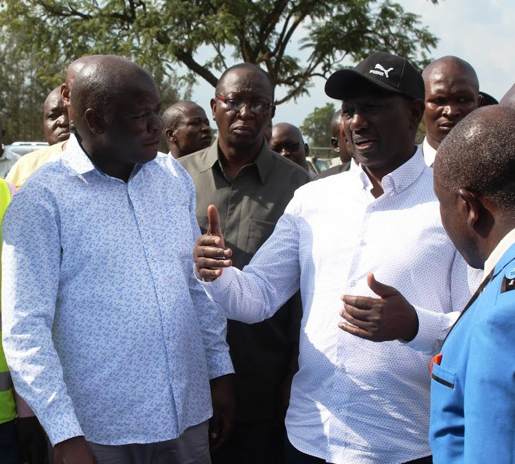 Busia leaders thank government for road upgrade
