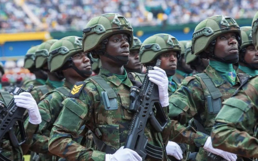 Rwandan troops trained by Chinese mark 25th anniversary of liberation