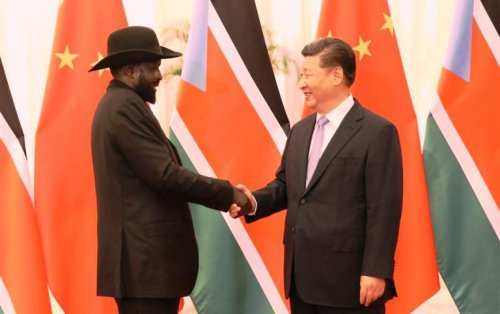 China to support South Sudan's pre-transitional committee