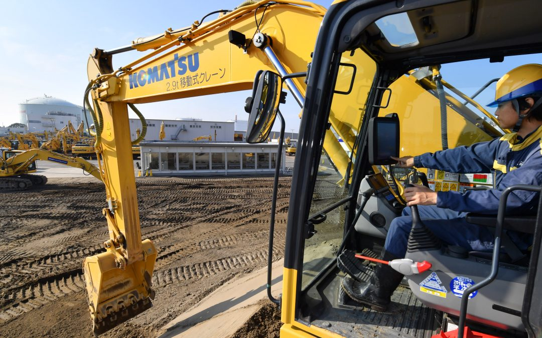 Komatsu to set up plant in South Africa to battle Chinese rivals