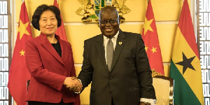 Chinese Vice Premier commends Akufo-Addo for growth of Ghana's economy