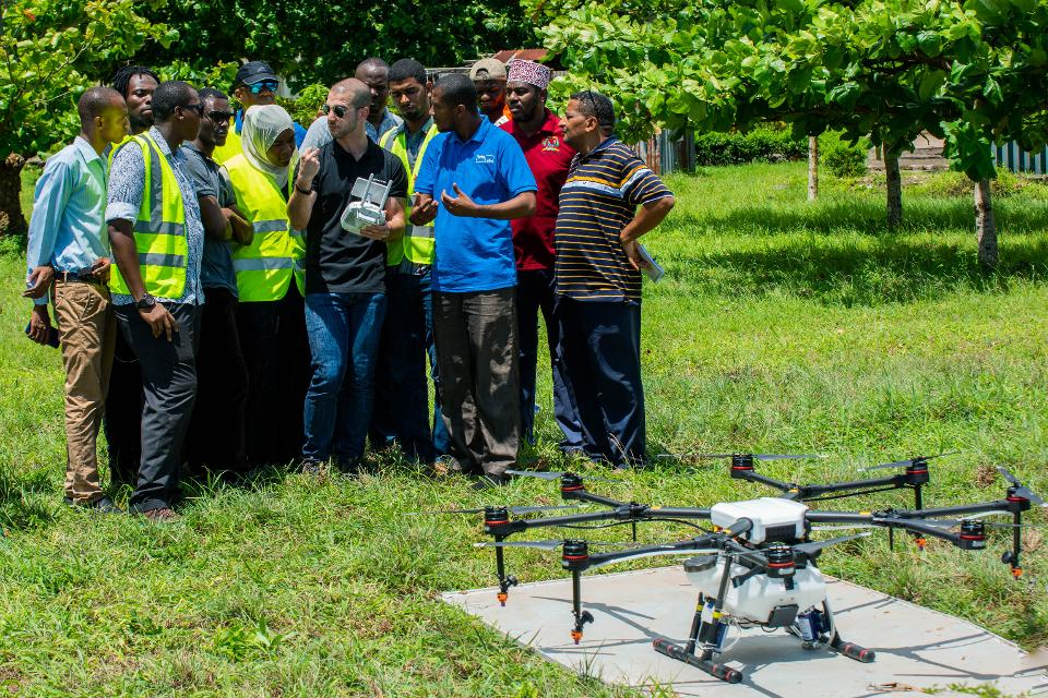 How Do You Fight Malaria In Tanzania? With Drones!