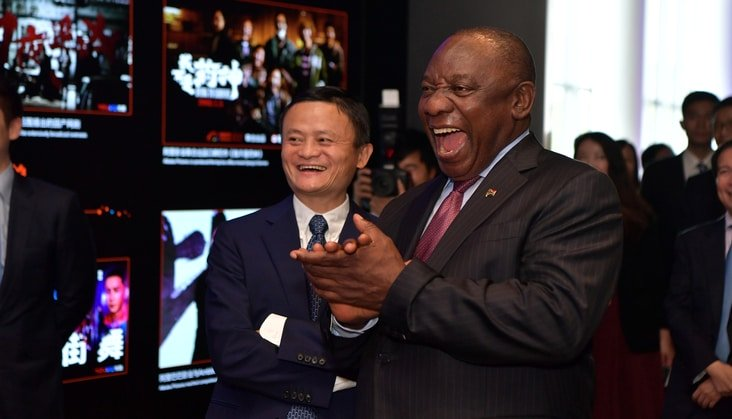 """Jack Ma: """"Today's Africa is the China of 20 years ago!"""""""