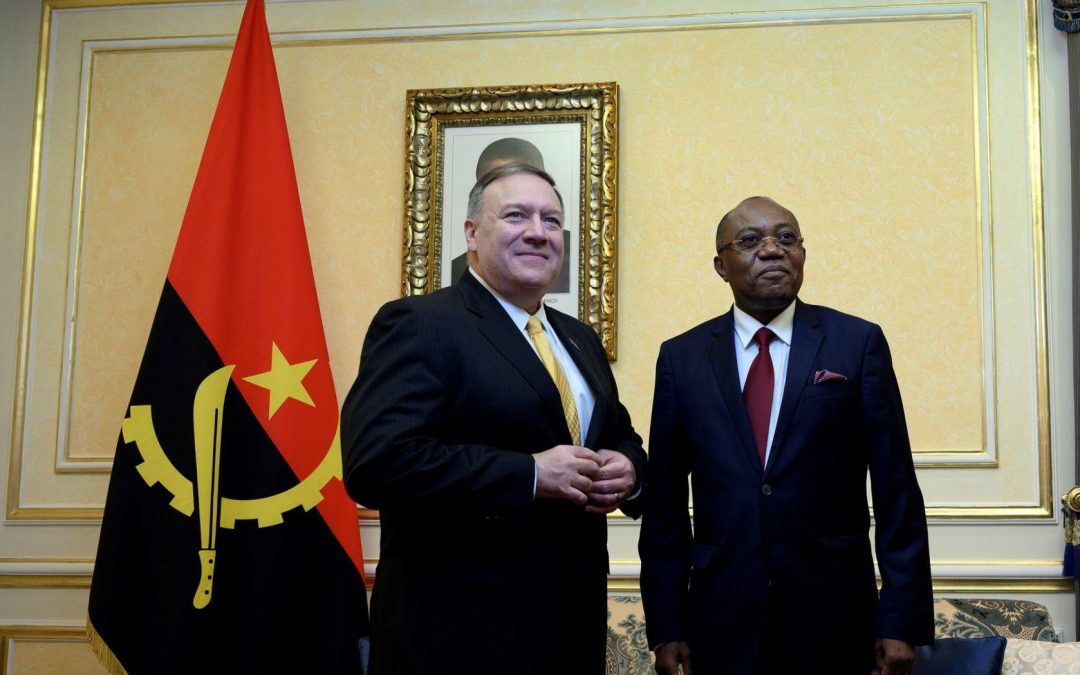 Pompeo blasts corruption, promotes U.S. business in Africa trip