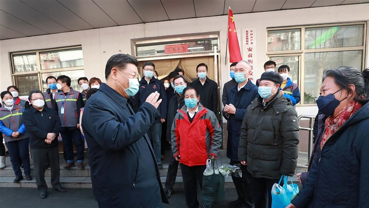 Coronavirus: China's Xi Jinping faces his biggest challenge