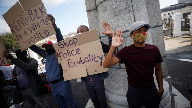 SA and Namibia among few African governments to condemn US police brutality